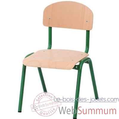 Chaise novum 31 cm vert 4413004 de novum dans chaise sur for Chaise 87 cm