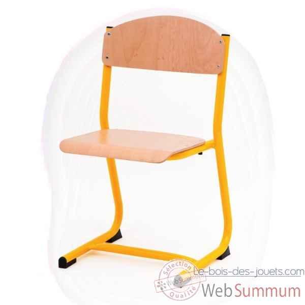 chaise classique 43cm jaune novum 4418045 dans chaise sur. Black Bedroom Furniture Sets. Home Design Ideas
