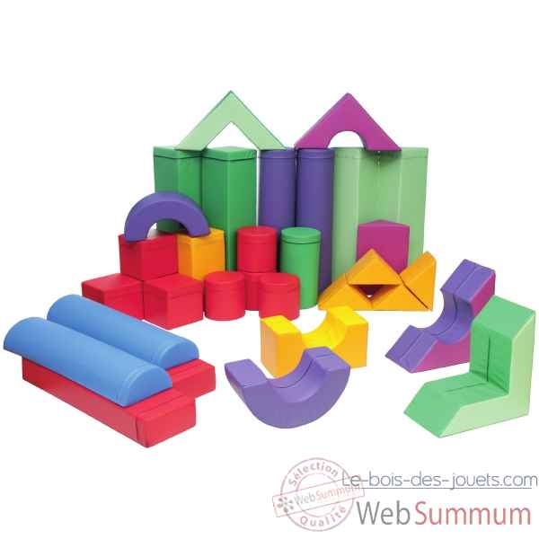 Grand ensemble de cubes en mousse Novum -4528500