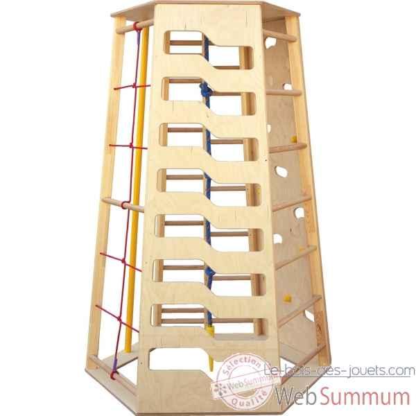 mur etag re echelle vestiaire meuble enfant mobilier. Black Bedroom Furniture Sets. Home Design Ideas