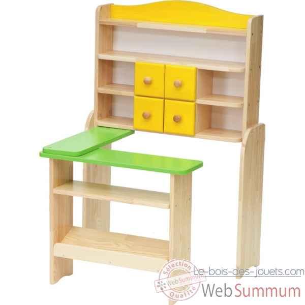 e69b37c966556 Magasin en bois pour enfant - jas des alpilles