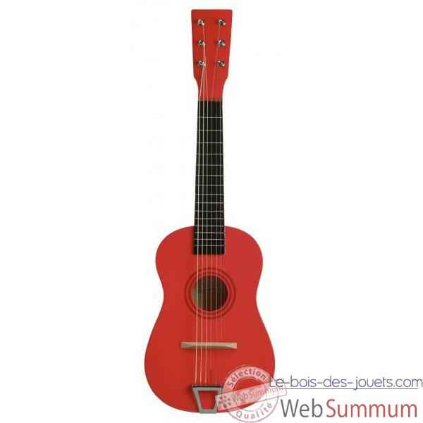 Guitare couleur rouge - 0341