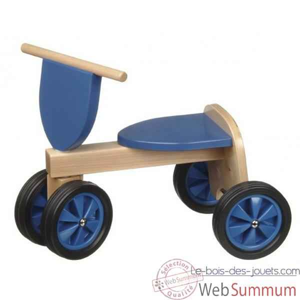 Tricycle couleur bleu -1381
