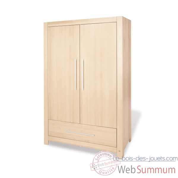 armoire 39 nick 39 pinolino 145353 dans armoires sur le bois. Black Bedroom Furniture Sets. Home Design Ideas