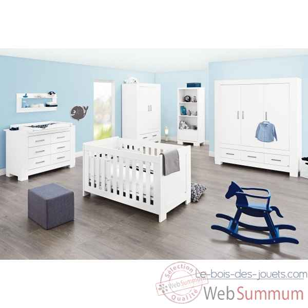 Chambre de bebe 'ice' large grand Pinolino -103413BG