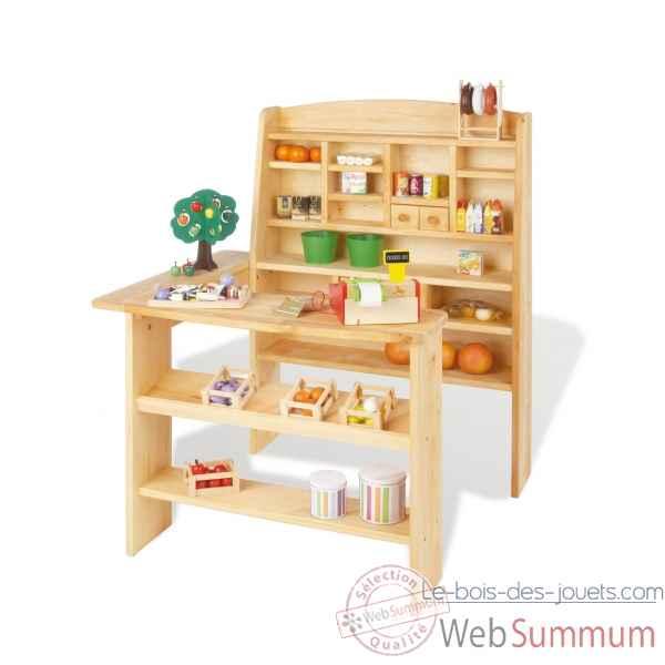 jouets en bois marchande
