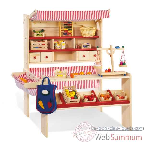 jeu de la marchande 39 lucy 39 pinolino 221007 dans cuisine. Black Bedroom Furniture Sets. Home Design Ideas