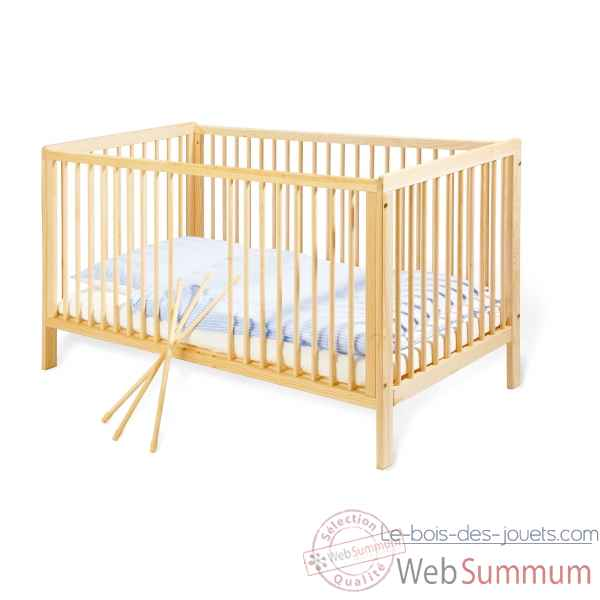 lit d 39 enfant 39 hanna 39 140 x 70 cm pinolino 111038 photos le bois des jouets de pinolino. Black Bedroom Furniture Sets. Home Design Ideas