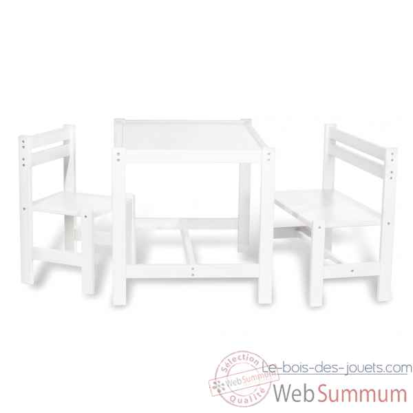 Bureau d 39 enfant 39 luca 39 pinolino 201340 de meubles d co enfant - Set table et chaises ...