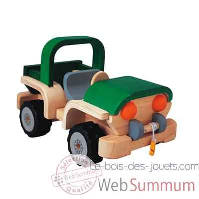 Video Aventure 4x4 wd en bois - Plan Toys 6311