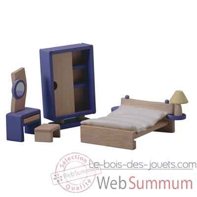 Video Chambre decor moderne en bois - Plan Toys 7444