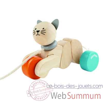 Chat a tirer Plan Toys -5435