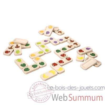 Domino fruits et legumes Plan Toys -5618