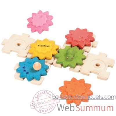 Engrenages puzzles- standard Plan Toys -5634