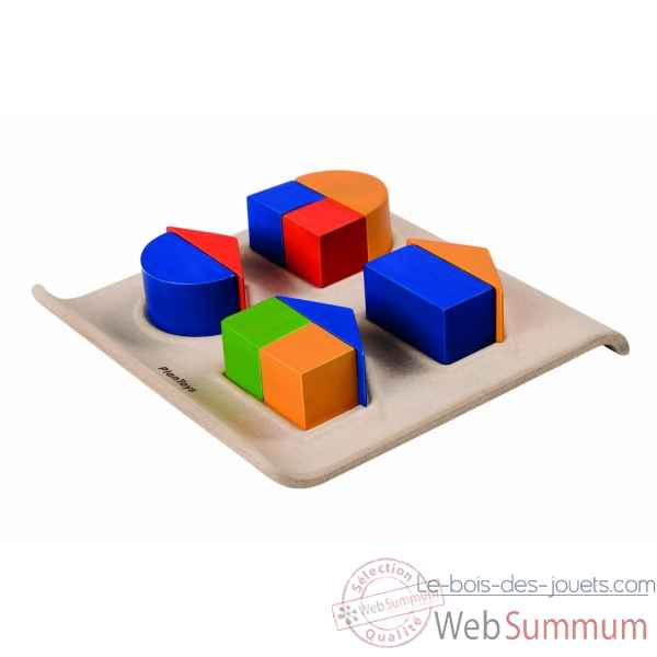 Fraction fun Plan Toys -5648