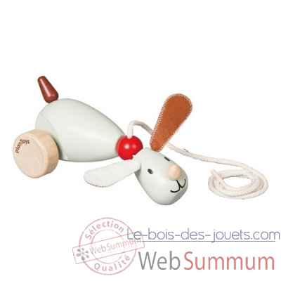 Houndy le chien a tirer Plan Toys -5103