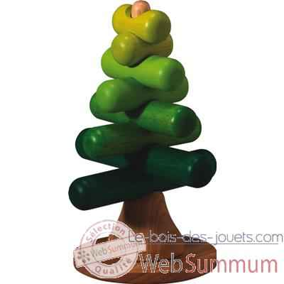 Video Arbre a empiler en bois - Plan Toys 5149