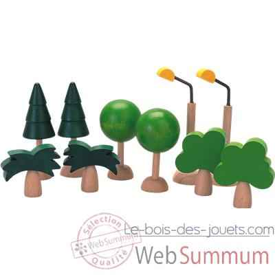 Video Arbres et lumieres en bois - Plan Toys 6008