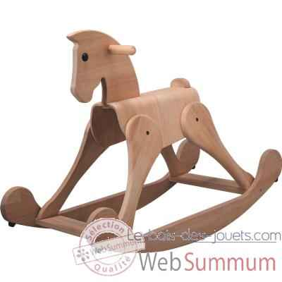 Video Cheval a bascule en bois - Plan Toys 3436