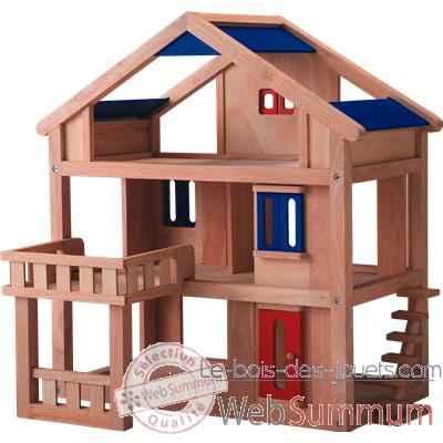 plan maison en bois jouet