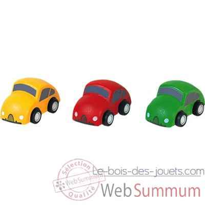 mini voitures en bois plan toys 6024 dans v hicules en. Black Bedroom Furniture Sets. Home Design Ideas