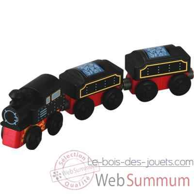 Train traditionnel en bois - Plan Toys 6095