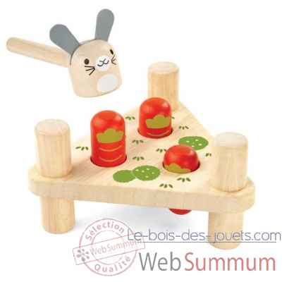 Lapin a taper Plan Toys -5436