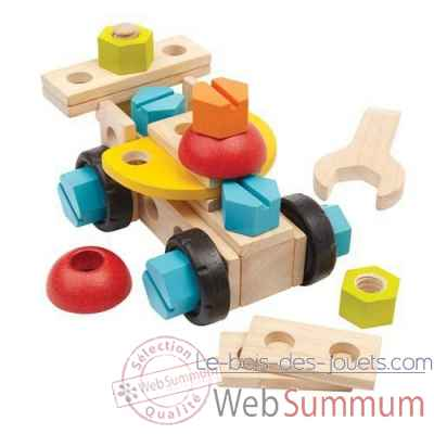 Set de construction 40 pieces Plan Toys -5539