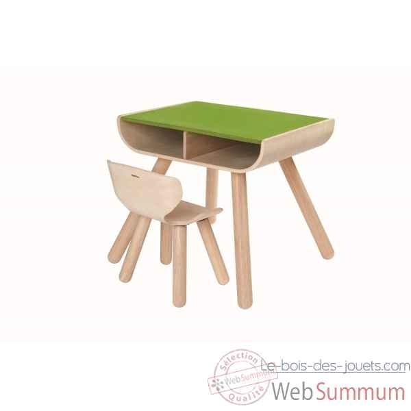 table et chaise plan toys 8700 dans jouets en bois plan toys sur le bois des jouets. Black Bedroom Furniture Sets. Home Design Ideas