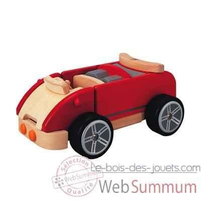 voiture de sport en bois plan toys dans v hicules en bois sur le bois des jouets. Black Bedroom Furniture Sets. Home Design Ideas