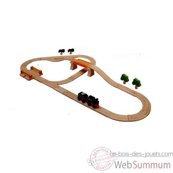 Circuit Rails PlanToys -6097