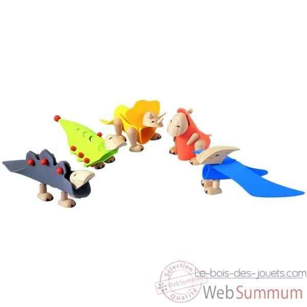 Dinosaures construire 5 pces plantoys de plan toys dans - Construire des jouets en bois gratuit ...