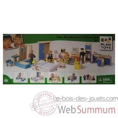 Meuble Maison De Poupee Plan Toys Le Bois Des Jouets