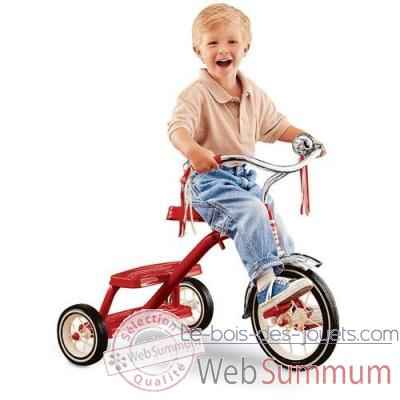 Radio Flyer Tricycle retro rouge -33