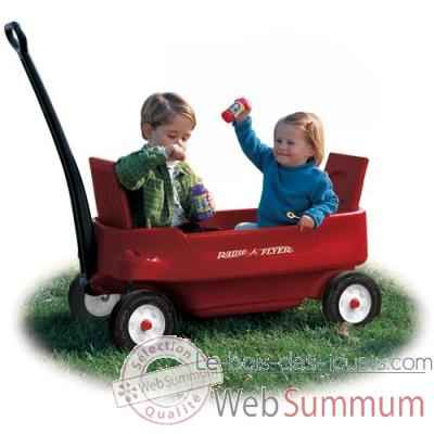 Radio Flyer Chariot biplace -2700