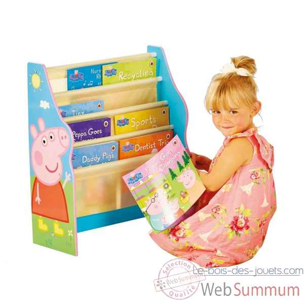 Bibliotheque enfant peppa pig Room studio -866307