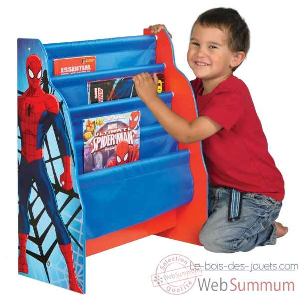 Bibliotheque enfant spiderman Room studio -866020