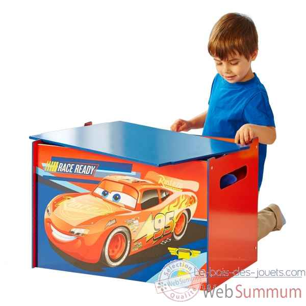 Coffre a jouets disney cars Room studio -866313