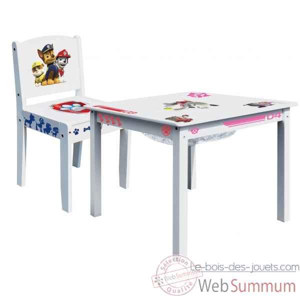 Jouet en bois jeu enfant le bois des jouets for Table avec chaise enfant
