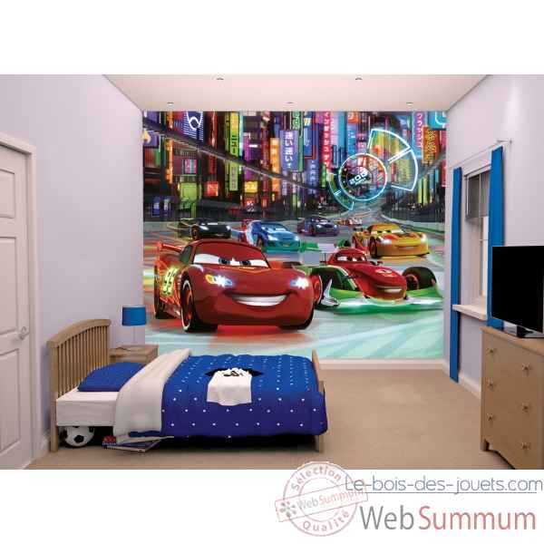 Fresque murale disney cars Room studio -44111