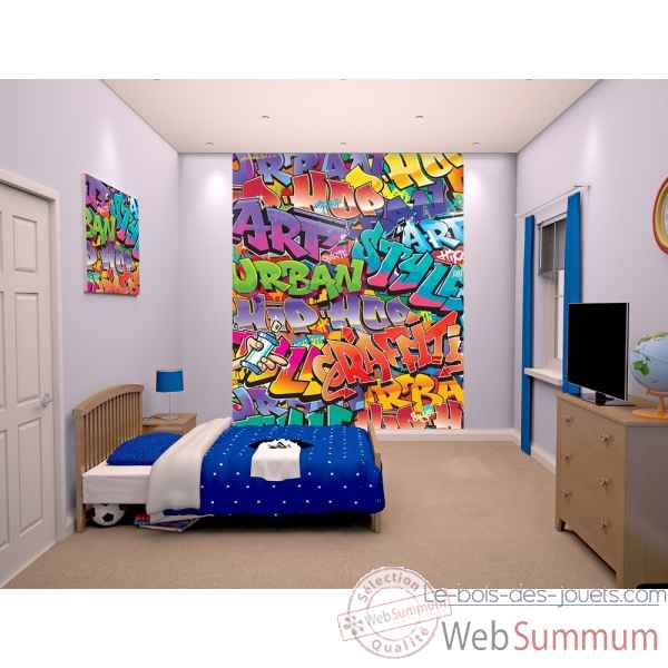 Fresque murale graffitti Room studio -43855