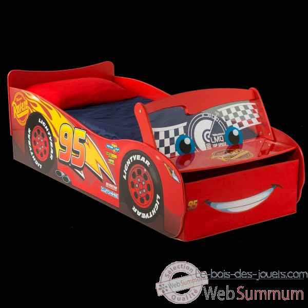Lit enfant 70 x 140 cm p\'tit bed legende disney cars lumineux Room studio -866304