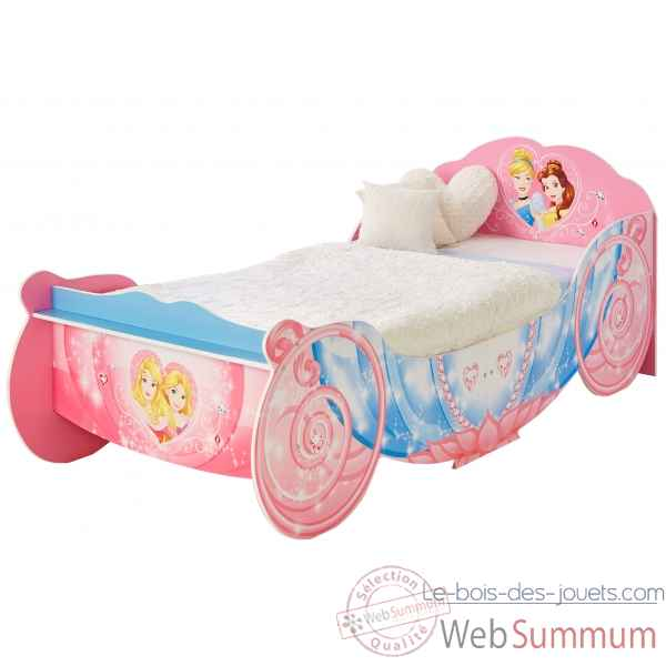 Lit junior legende princesses carrosse Room studio -866026