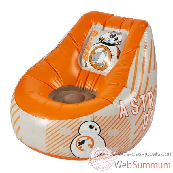 Pouf Poire tween gonflable floquee bb-8 star wars Room studio -866113
