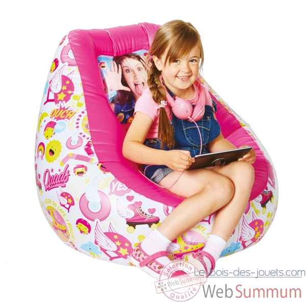 Pouf Poire tween gonflable floquee soy luna Room studio -866290