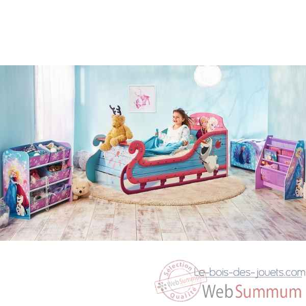 P\\\'tit bed legende reine des neiges traineau Room studio -865763