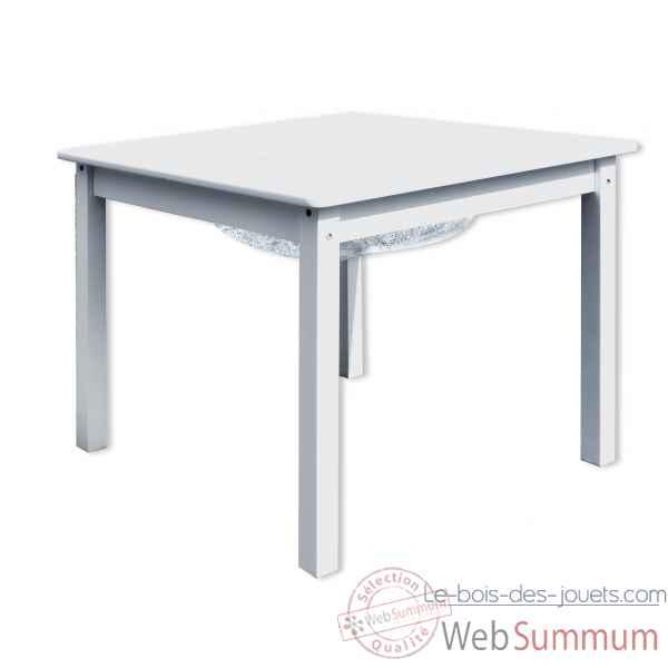 Table De Jeu Enfant Avec Rangement Blanche Room Studio 530162 De