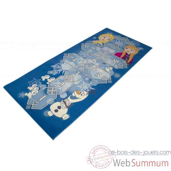 Tapis marelle reine des neiges Room studio -632403