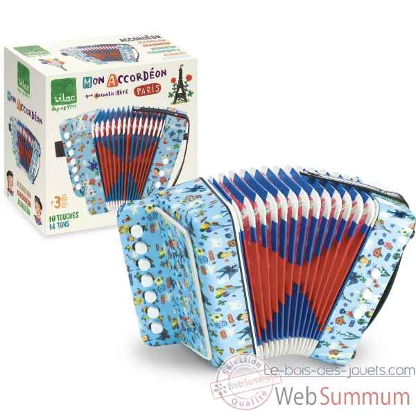 Accordeon nathalie lete vilac -8650