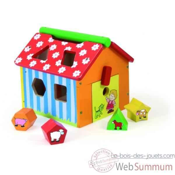 bo te formes ferme jouet vilac 2475 dans jouet vilac. Black Bedroom Furniture Sets. Home Design Ideas